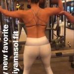 Джей Ло показала суперподтянутую фигуру в спортзале
