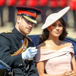Меган Маркл и принц Гарри впервые в Букингемском дворце на дне рождения королевы