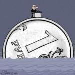 Курс доллара продолжает рост в России — рубль обваливается в среду из-за краха госдолга