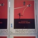 В Нидерландах появилась почтовая марка о террористической России к кровавому ЧМ-2018