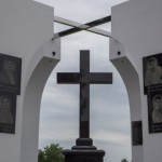В Славянске открыли мемориал служителям церкви, которых убили русские фашисты