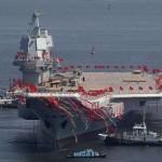 Китай завершил испытания своего первого авианосца