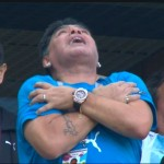 Диего Марадона «слегка» переборщил с кокаином: после матча Нигерия-Аргентина он не смог самостоятельно покинуть стадион