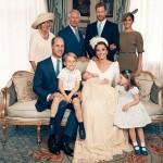 Опубликованы фото с обряда крещения принца Луи