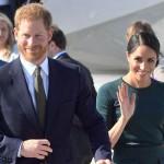 Первая официальная поездка молодоженов: принц Гарри и Меган Маркл прилетели в Ирландию