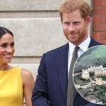 Елизавета II подарила принцу Гарри и Меган Маркл очередной замок: фото