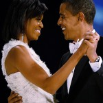 Барака и Мишель Обаму застукали во время зажигательного танца