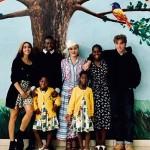 Мадонна впервые за несоколько лет показала фото всего своего семейства