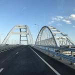 Российские водители предрекают, что керченский мост зимой рухнет