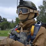 Украинские военные получили панорамные очки ночного видения