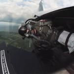 Пилот ВВС США показал впечатляющее видео полета истребителя F-16 из кабины (впечатлительным — смотреть!)