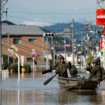 Число жертв наводнения в Японии возросло до 200 человек