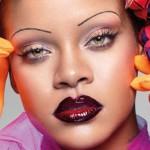 Рианна украсила обложку британского Vogue необычными снимками