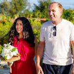 Сальма Хайек и Франсуа-Анри Пино повторили свадьбу спустя девять лет брака