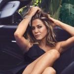 Энистон навестила Джорджа Клуни с бутылочкой вина