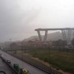 В Италии массовая гибель людей из-за обрушения гигантского моста в Генуе (видео падения)