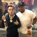 Рэперы 50 Cent и Tekashi попали под обстрел во время разборок гангстеров