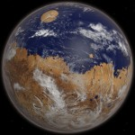На Марсе был океан