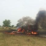 В Индии разбился самолет ВВС российского происхождения