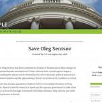 Петиция в поддержку Олега Сенцова на сайте Белого дома набрала необходимые 100 000