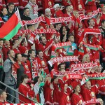 «Кто не скачет — тот москаль» — беларусские болельщики передали «привет» русским «братьям»