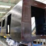 Китай представил новый поезд из углеродного волокна