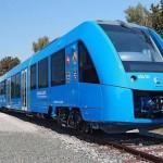 Первый в мире поезд на водородном топливе выполнил первый рейс