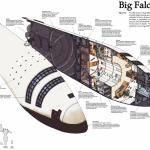 В Сети появилась внутренняя схема самого гигантского космического корабля SpaceX