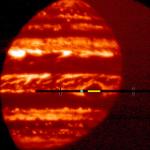NASA создало анимацию, которая имитирует полет сквозь  Красное Пятно Юпитера (видео)