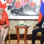 Тереза Мэй не захотела разговаривать с Путиным