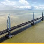 На этой неделе в Китае откроется самый длинный в мире мост (фоторепортаж)