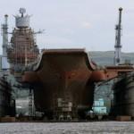 Гигантский плавучий док утонул, едва не потопив авианосец «Адмирал Кузнецов»