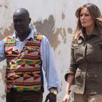 Мелания Трамп встретилась с африканским вождем