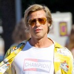 «Моложе на 20 лет» — Брэд Питт на съемках фильма «Однажды в Голливуде» Квентина Тарантино