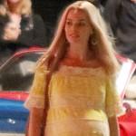 Новые кадры из скандального фильма Тарантино — беременная Марго Робби