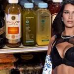 Голубика, газировка, нижнее белье — Белла Хадид готовится к шоу Victoria's Secret