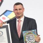 Братьев Кличко внесли в Книгу рекордов Гиннесса