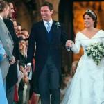 Британская принцесса Евгения вышла замуж — в платье, открывающем шрам от операции.