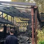 На востоке Москвы подожгли деревянный храм секты РПЦ
