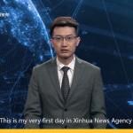 Новый виртуальный ведущий китайского телевидение обогнал своих реальных колег (видео)
