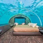 На Мальдивах открылась первая в мире подводная вилла