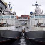 В Одессу, несмотря на шторм, прибыли новейшие десантно-штурмовые катера