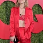 Оливия Уайлд блистала на вечеринке «GQ» в кружевном бюстгальтере
