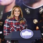 Мелания Трамп впервые одела на официальное мероприятие рубашку