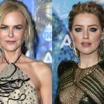 Николь Кидман и Эмбер Херд стали главными звездами на премьере «Аквамена»
