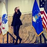 Мелания Трамп в рокерском образе встретилась с детьми