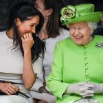 Королева Елизавета игнорирует Меган Марк