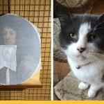 Кошка искусствоведа сделала дырку в редкой картине XVII века