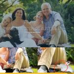 Премьер-министру Австралии на постере нарисовали две левых ноги