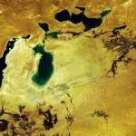 Аральское море и его остатки полностью исчезли (фото)
